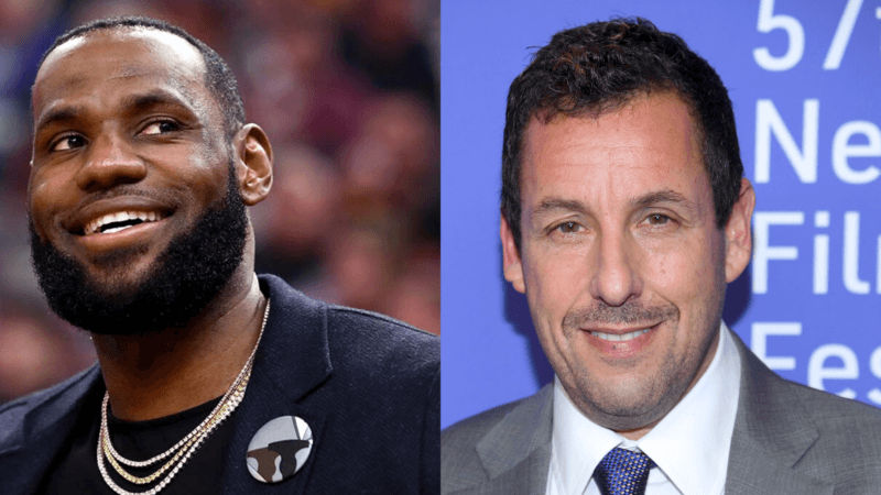 Lebron James and Adam Sandler Team Up For NBA Netflix Film